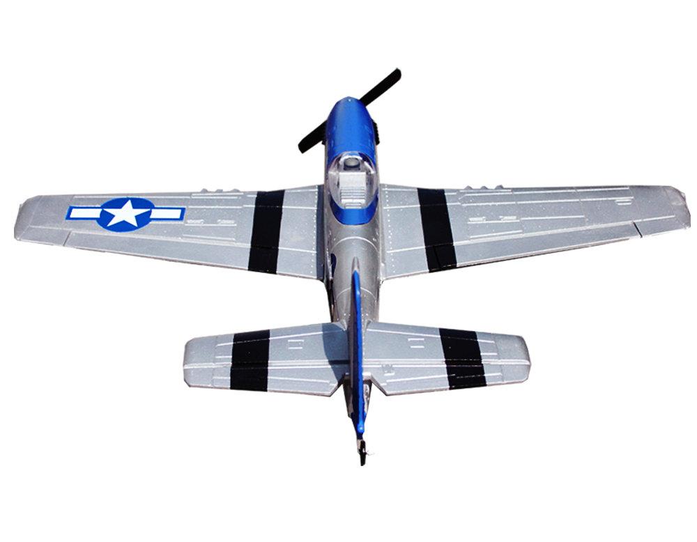 Volantex RC Mustang P51D 750mm Warbird 768-1 RTF | VolantexRC