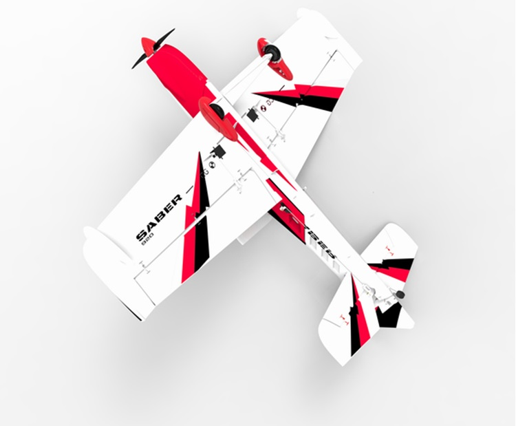 Volantex RC Saber 920 4 Channel Airplane with 3S Power System and Perfect  Size for 3D Aerobatics 756-2 RTF