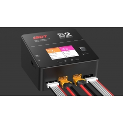 iSDT D2 Dual channel Battery Balance Charger 200W 12A