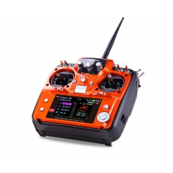 Radiolink AT10II 2.4G 12CH Transmitter Mode 2 +  R12DS Receiver + PRM-01 / Orange color