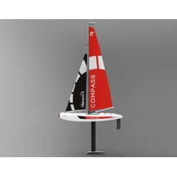 Volantex RC COMPASS RG65 class competition sailboat 650mm 791-1 RTR