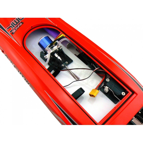 Volantex RC ATOMIC High speed 50km/h strong ABS unibody hull racing rc electric boat 792-4 PNP